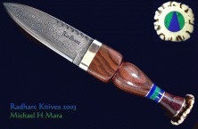 Scottish Sgian Dubh knives