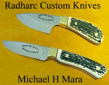 Custom Handmade Knives for hunters and chefs