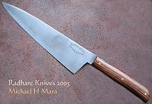 Rosewood high performance Cook's knife