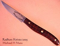 Snakewood Utility Paring Knife