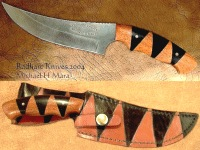 Upswept Tiger Hunter Utility Knife