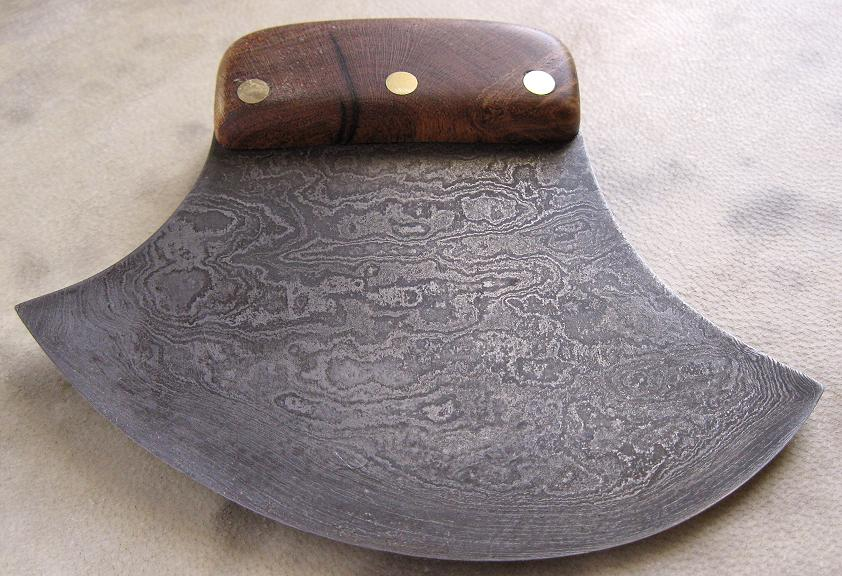 Ulu knife construction