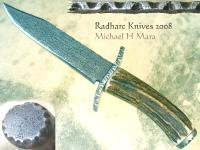 Hand forged Frontier Bowie Knife