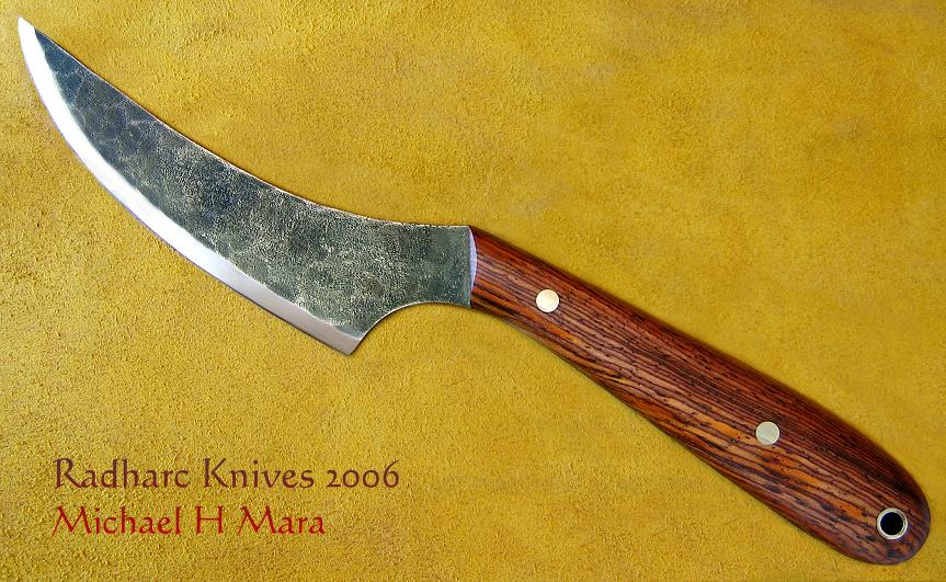 Hand Forged Hunting and Skinning Knife