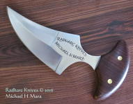 Shark Tooth 2 Push Dagger