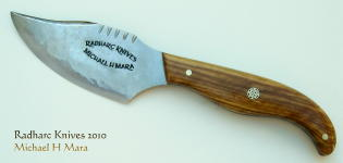 Hand made high quality cutlery for chefs and hunters