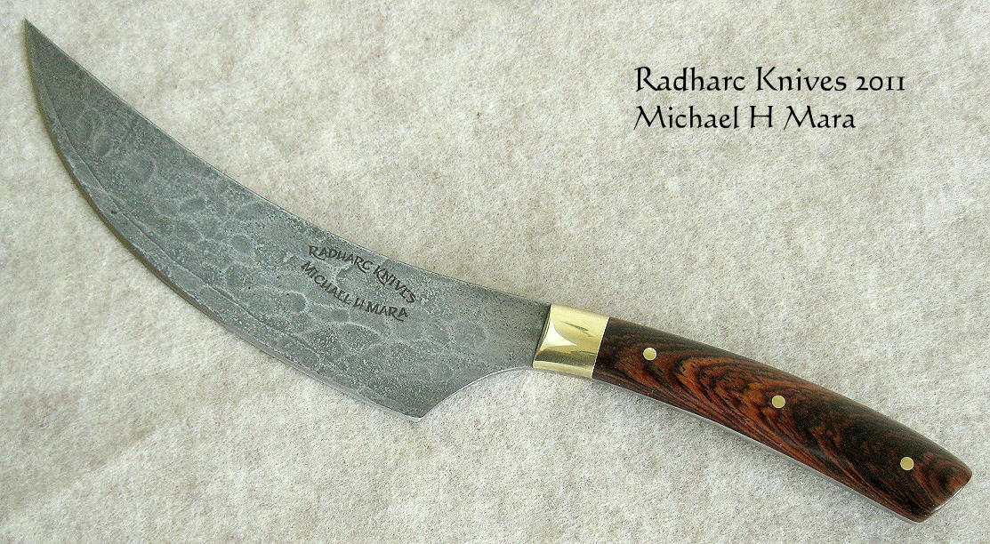 High performance chef's knife